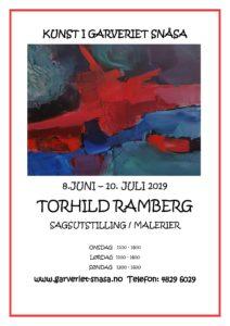 Salgsutstilling av Torhild Ramberg på Garveriet Snåsa 8.6 - 10.7 2019